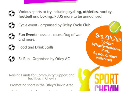 7th June 2015 – Sports Chevin Sports Day